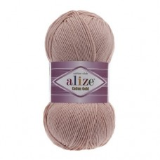 161 Пряжа Alize Cotton Gold пудра