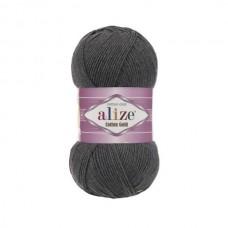 182 Пряжа Alize Cotton Gold средне-серый меланж