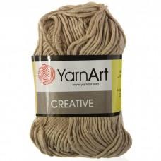 234 Пряжа YarnArt Creative темный беж