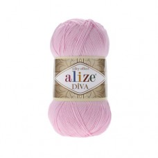 185 Пряжа Alize Diva детский розовый
