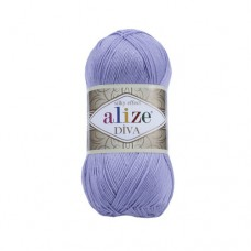 158 Пряжа Alize Diva лаванда-лиловый
