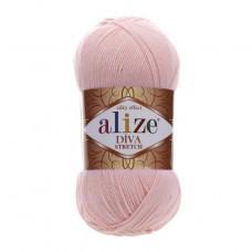 363 Пряжа Alize Diva Stretch светло-розовый