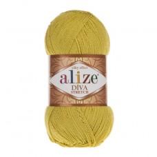 109 Пряжа Alize Diva Stretch желтый