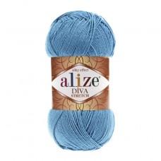 245 Пряжа Alize Diva Stretch Голубой Сочи