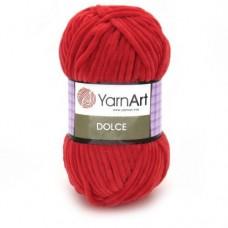 748 Пряжа YarnArt Dolce красный