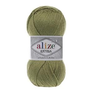100 Пряжа Alize Extra оливковый