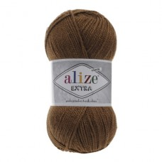 137 Пряжа Alize Extra табачно-коричневый