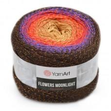 3265 Пряжа YarnArt Flowers Moonlight