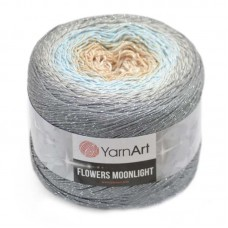 3268 Пряжа YarnArt Flowers Moonlight