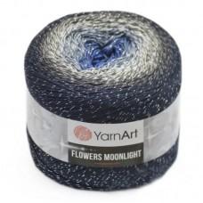 3275 Пряжа YarnArt Flowers Moonlight