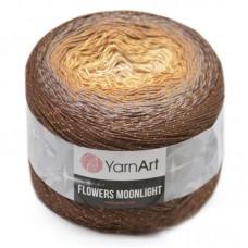 3284 Пряжа YarnArt Flowers Moonlight