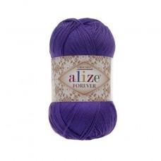 252 Пряжа Alize Forever фиолетовый