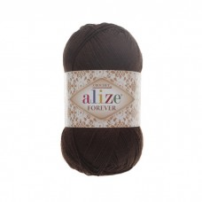 26 Пряжа Alize Forever коричневый