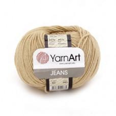 07 Пряжа YarnArt Jeans беж