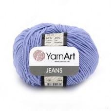 15 Пряжа YarnArt Jeans голубой