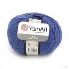 16 Пряжа YarnArt Jeans джинс