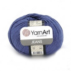 17 Пряжа YarnArt Jeans темный джинс