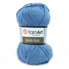 15 Пряжа YarnArt Jeans Plus светло-синий