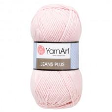 18 Пряжа YarnArt Jeans Plus светло-розовый