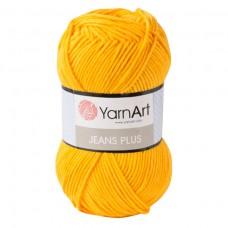 35 Пряжа YarnArt Jeans Plus желтый