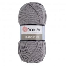 46 Пряжа YarnArt Jeans Plus серый