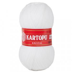 010 Пряжа Kartopu Kristal белый