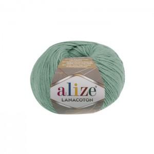 15 Пряжа Alize Lanacoton водяная зелень