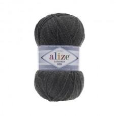 182 Пряжа Alize Lanagold 800 средне-серый
