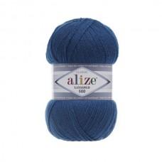 155 Пряжа Alize Lanagold 800 темно-бирюзовый