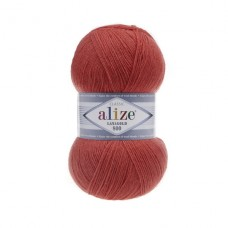 154 Пряжа Alize Lanagold 800 коралловый