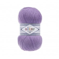 166 Пряжа Alize Lanagold 800 лиловый