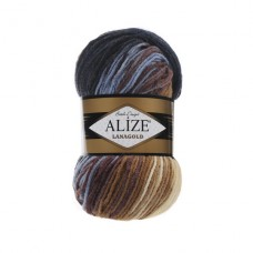 3017 Пряжа Alize Lanagold Batik