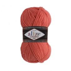 154 Пряжа Alize Lanagold Fine коралловый
