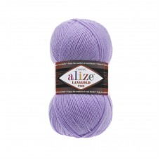 166 Пряжа Alize Lanagold Fine лиловый