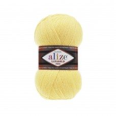 187 Пряжа Alize Lanagold Fine лимон