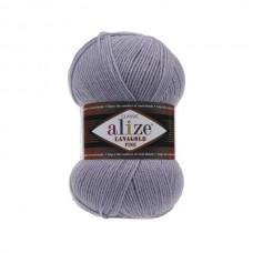200 Пряжа Alize Lanagold Fine серый