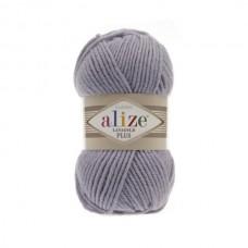 200 Пряжа Alize Lanagold Plus светло-серый