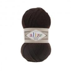26 Пряжа Alize Lanagold Plus коричневый