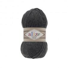 182 Пряжа Alize Lanagold Plus средне-серый