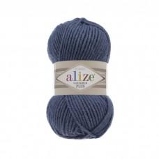 381 Пряжа Alize Lanagold Plus морская волна