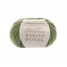 485 Пряжа Alize Merino Royal зеленый