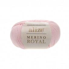 31 Пряжа Alize Merino Royal светло-розовый