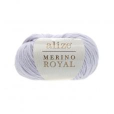 362 Пряжа Alize Merino Royal светло-серый