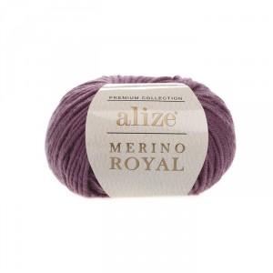 73 Пряжа Alize Merino Royal вялая роза