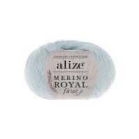 480 Пряжа Alize Merino Royal Fine светло-синий