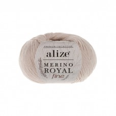 67 Пряжа Alize Merino Royal Fine слоновая кость