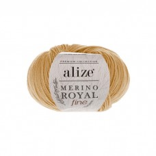 97 Пряжа Alize Merino Royal Fine каштановый