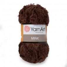333 Пряжа YarnArt Mink темно-коричневый