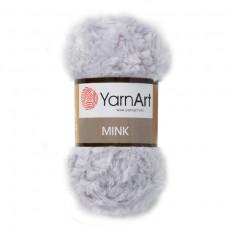 334 Пряжа YarnArt Mink светло-серый
