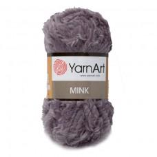 335 Пряжа YarnArt Mink серый